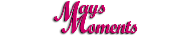 Mays Moments Logo Design